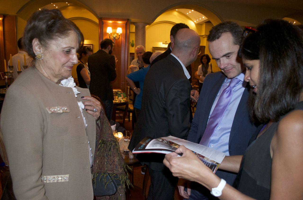 Journée francophone du festival du film de thessalonique ambassade