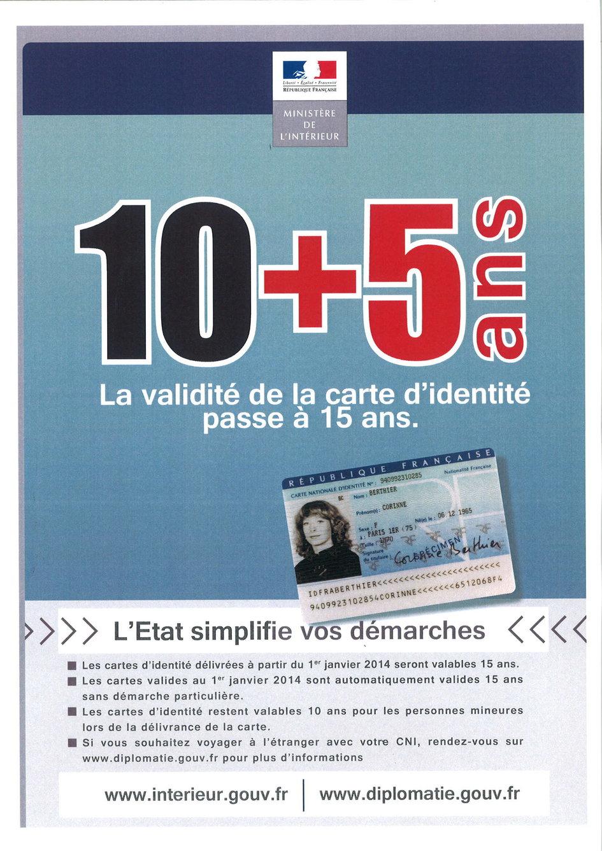 La Carte Nationale D Identite Est Valide 15 Ans Ambassade De France En Grece Presbeia Ths Gallias Sthn Ellada